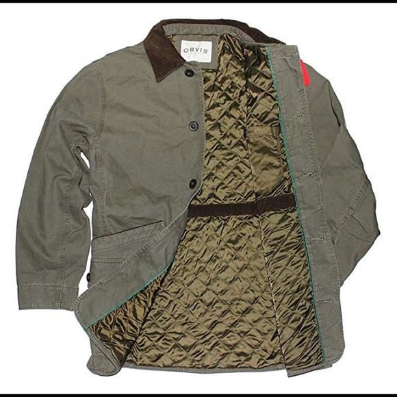 cbf83814aa9813 Men s Orvis NEW Barn Jacket in sage